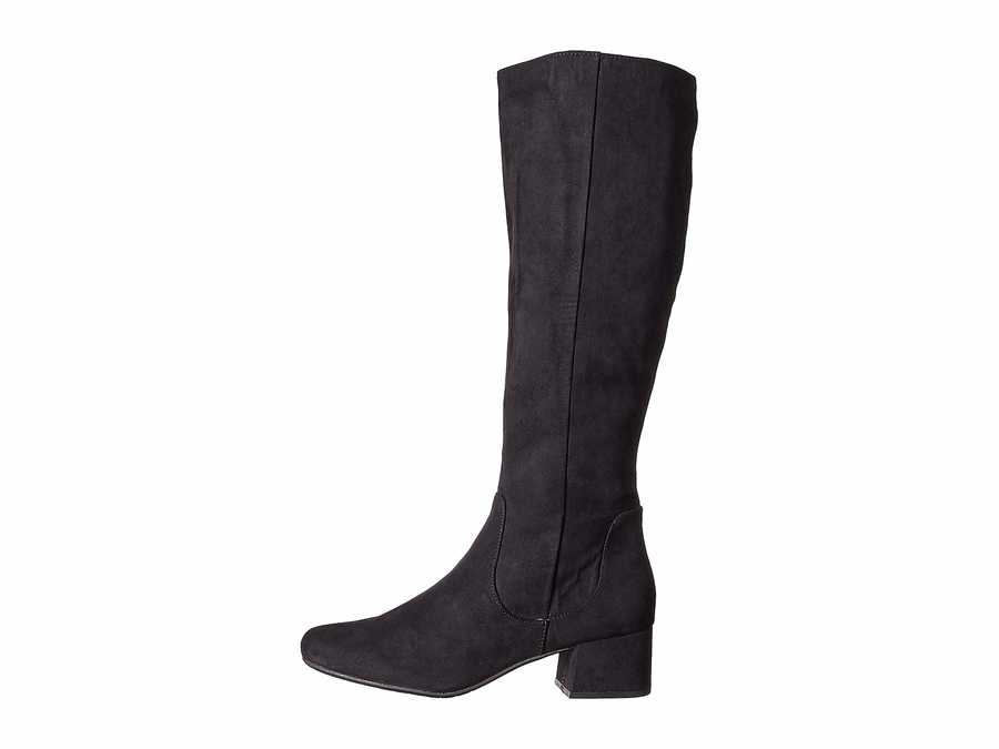 Kenneth Cole Reaction Women Black Road Tall Boot Knee High Boots