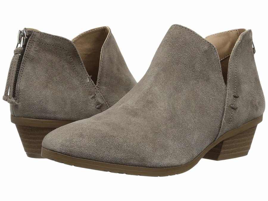 Kenneth Cole Reaction Women Concrete Side Way Ankle Bootsbooties