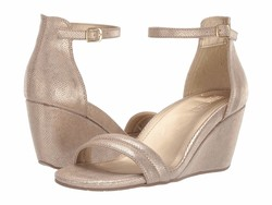 Kenneth Cole Reaction Women Soft Gold 7 Cake İcing Heeled Sandals - Thumbnail