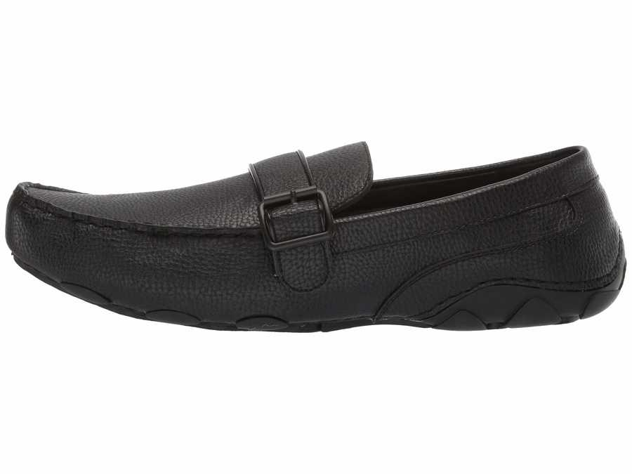 Kenneth Cole Unlisted Men Black 2 String Along Loafers