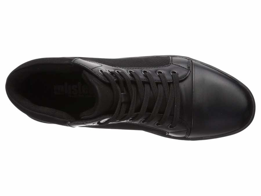Kenneth Cole Unlisted Men Black Crown Sneaker E Lifestyle Sneakers