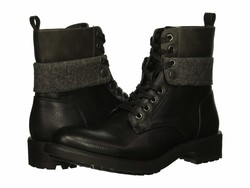 Kenneth Cole Unlisted Men Black Design 301955 Lace Up Boots - Thumbnail