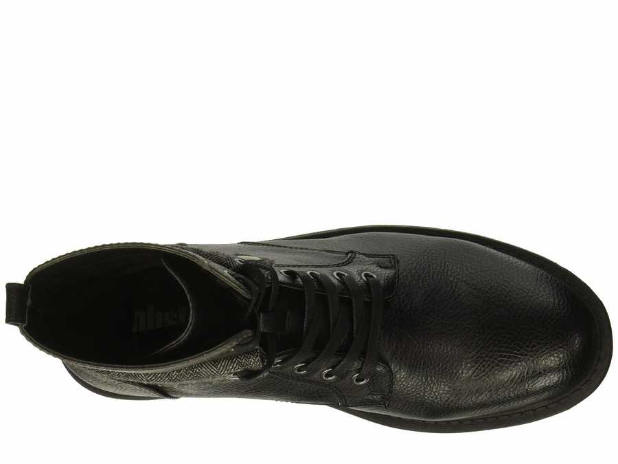 Kenneth Cole Unlisted Men Black Design 301955 Lace Up Boots