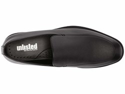 Kenneth Cole Unlisted Men Black Half Slip-On Loafers - Thumbnail