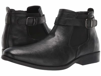 Kenneth Cole Unlisted - Kenneth Cole Unlisted Men Black Half Tide Chelsea Boots