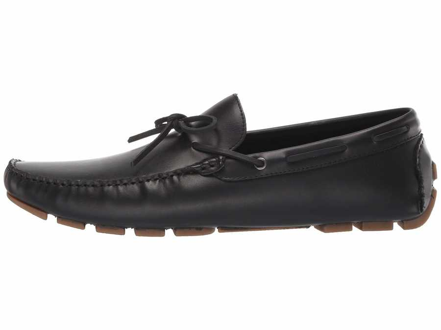 Kenneth Cole Unlisted Men Black Hope Driver Loafers