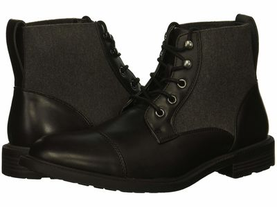 Kenneth Cole Unlisted - Kenneth Cole Unlisted Men Black Roll Boot B Lace Up Boots