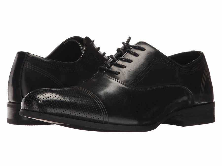 Kenneth Cole Unlisted Men Black St-Eel Home Oxfords