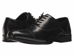 Kenneth Cole Unlisted Men Black St-Eel Home Oxfords - Thumbnail