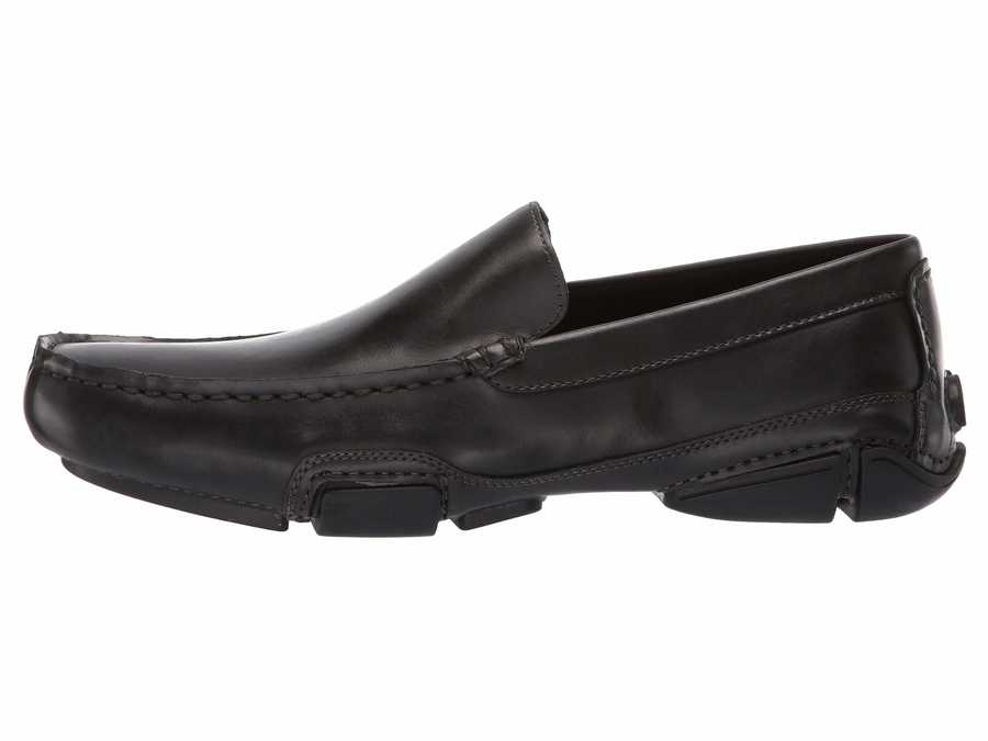 Kenneth Cole Unlisted Men Black To Be Bold Loafers