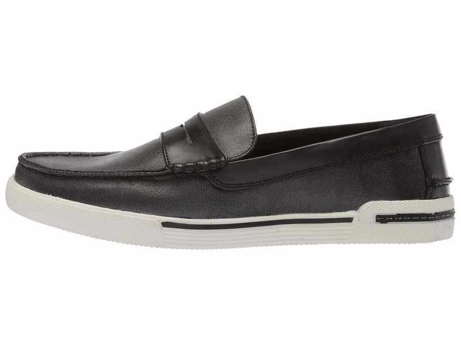 Kenneth Cole Unlisted Men Black Un-Anchor Loafers
