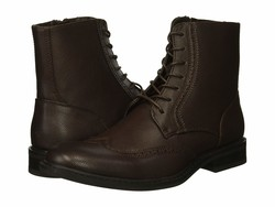 Kenneth Cole Unlisted Men Brown Buzzer Boot Lace Up Boots - Thumbnail