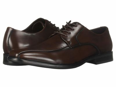 Kenneth Cole Unlisted - Kenneth Cole Unlisted Men Brown City Lace-Up B Oxfords