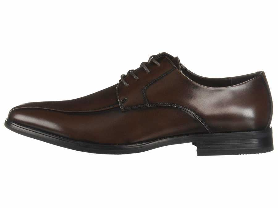 Kenneth Cole Unlisted Men Brown City Lace-Up B Oxfords