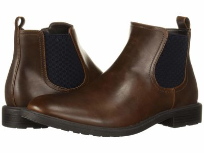 Kenneth Cole Unlisted - Kenneth Cole Unlisted Men Brown Roll Chelsea Dress Boots