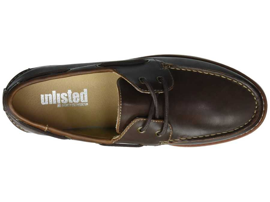 Kenneth Cole Unlisted Men Brown Santon Boat Boat Shoes
