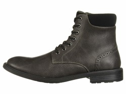 Kenneth Cole Unlisted Men Charcoal Roll Boot D Lace Up Boots - Thumbnail