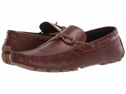Kenneth Cole Unlisted Men Cognac 2 Hope Driver Loafers - Thumbnail