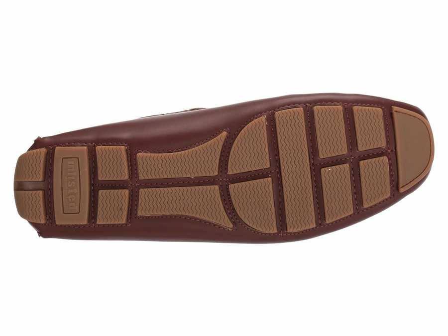 Kenneth Cole Unlisted Men Cognac 2 Hope Driver Loafers