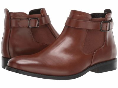 Kenneth Cole Unlisted - Kenneth Cole Unlisted Men Cognac Half Tide Chelsea Boots