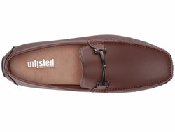 Kenneth Cole Unlisted Men Cognac Hope Driver D Loafers - Thumbnail