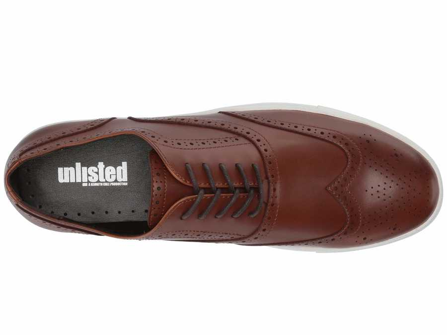 Kenneth Cole Unlisted Men Cognac Stand Sneaker G Lifestyle Sneakers