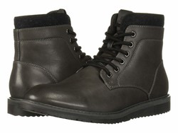 Kenneth Cole Unlisted Men Dark Grey Russel 2.0 Lace Up Boots - Thumbnail