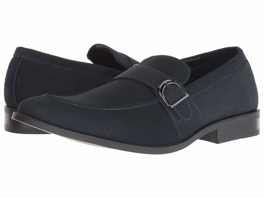 Kenneth Cole Unlisted Men Navy Half Time Show Loafers