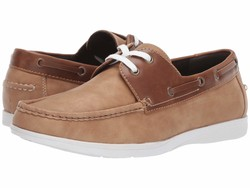 Kenneth Cole Unlisted Men Tan Comment-Ater Boat Shoes - Thumbnail
