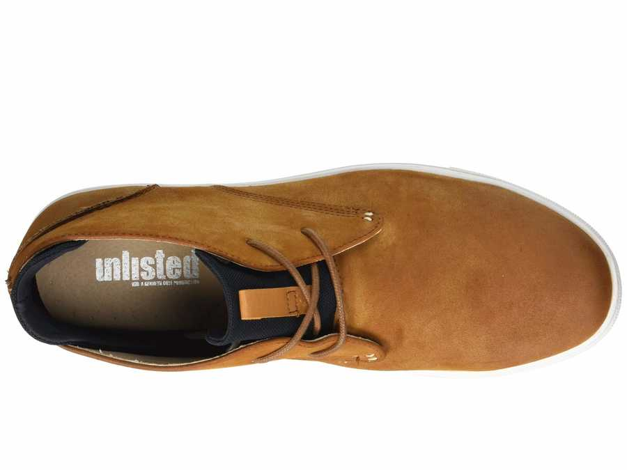 Kenneth Cole Unlisted Men Tan Stand Sneaker D Lifestyle Sneakers