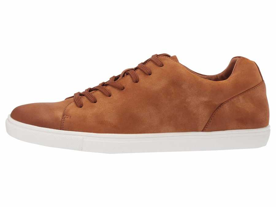 Kenneth Cole Unlisted Men Tan Stand Sneaker E Lifestyle Sneakers