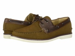 Kenneth Cole Unlisted Men Tobacco Santon Boat Boat Shoes - Thumbnail
