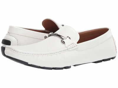 Kenneth Cole Unlisted - Kenneth Cole Unlisted Men White Hope Driver D Loafers