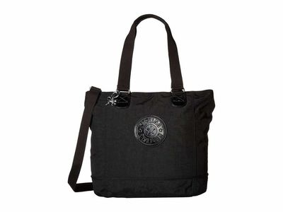 Kipling - Kipling Black Shopper Tote Handbag