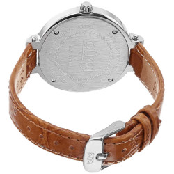 Ladies Multifunction Genuine Leather Watch BUR085OR - Thumbnail