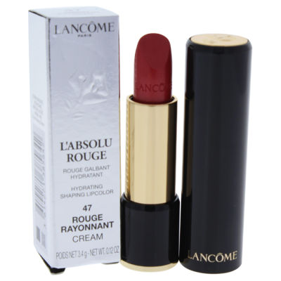 Lancome - Lancome LAbsolu Rouge Hydrating Shaping Lipcolor - 47 Rouge Rayonnant - Cream 0.12 oz