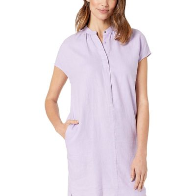 Lauren Ralph Lauren Lilac Breeze Linen Shift Dress