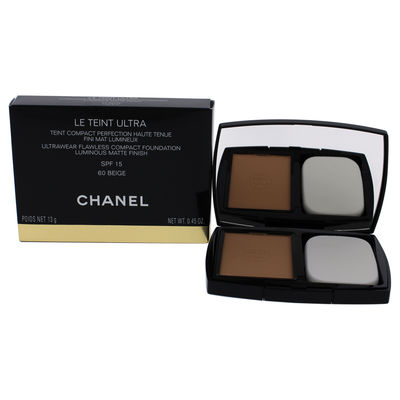 Chanel - Le Teint Ultra Tenue Compact Foundation SPF 15 - 60 Beige 0,45oz
