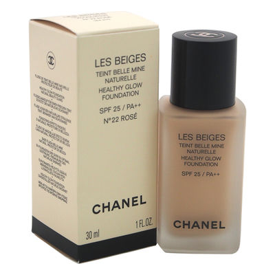 Chanel - Les Beiges Healthy Glow Foundation SPF 25 - No. 22 Rose 1oz