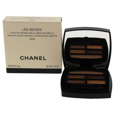 Chanel - Les Beiges Healthy Glow Natural Eyeshadow Palette - Deep 0,16oz