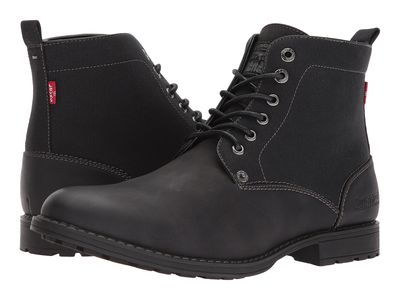 Levi'S® Shoes - Levi'S® Shoes Men Black Mono Chrome Lakeport Lace Up Boots