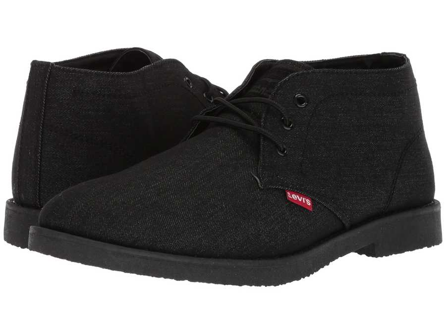 Levi'S® Shoes Men Black Sonoma Denim Chukka Boots