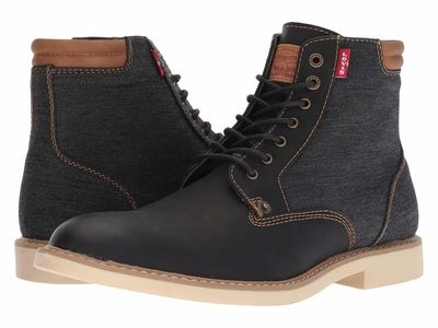 Levi'S® Shoes - Levi'S® Shoes Men Black Winham Denim Lace Up Boots