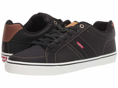 Levi'S® Shoes - Levi'S® Shoes Men Black/Tan Turner Tumbled Wax Lifestyle Sneakers