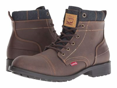 Levi'S® Shoes - Levi'S® Shoes Men Brown/Navy Artesia Ul Denim Lace Up Boots