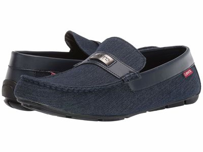 Levi'S® Shoes - Levi'S® Shoes Men Navy Nickel Denim C Loafers