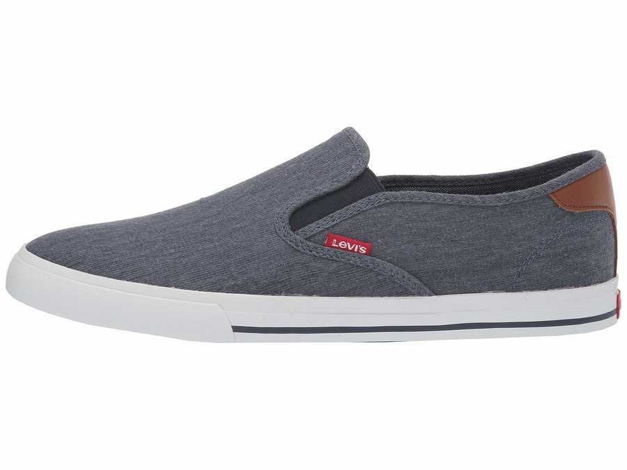 Levi'S® Shoes Men Navy Seaside Ct L Casual Lifestyle Sneakers