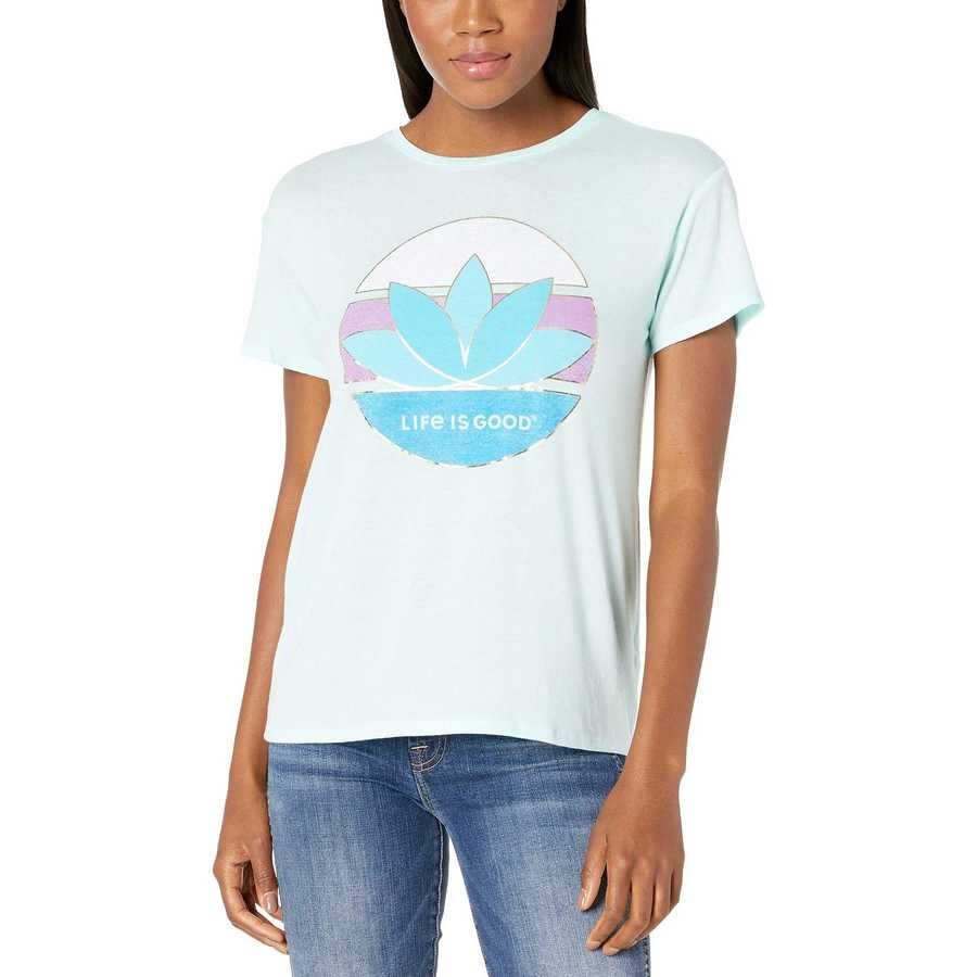 Life İs Good Bermuda Blue Favorite Slouchy Tee