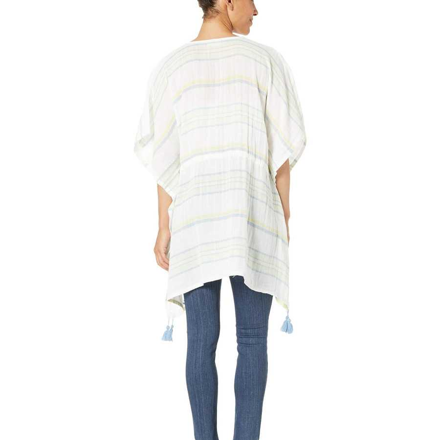 Life İs Good Cloud White Summer Breeze Tunic