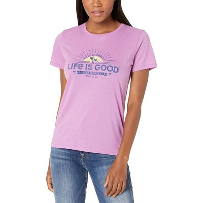 Life İs Good - Life İs Good Happy Grape Keep It Salty Cool Tee™